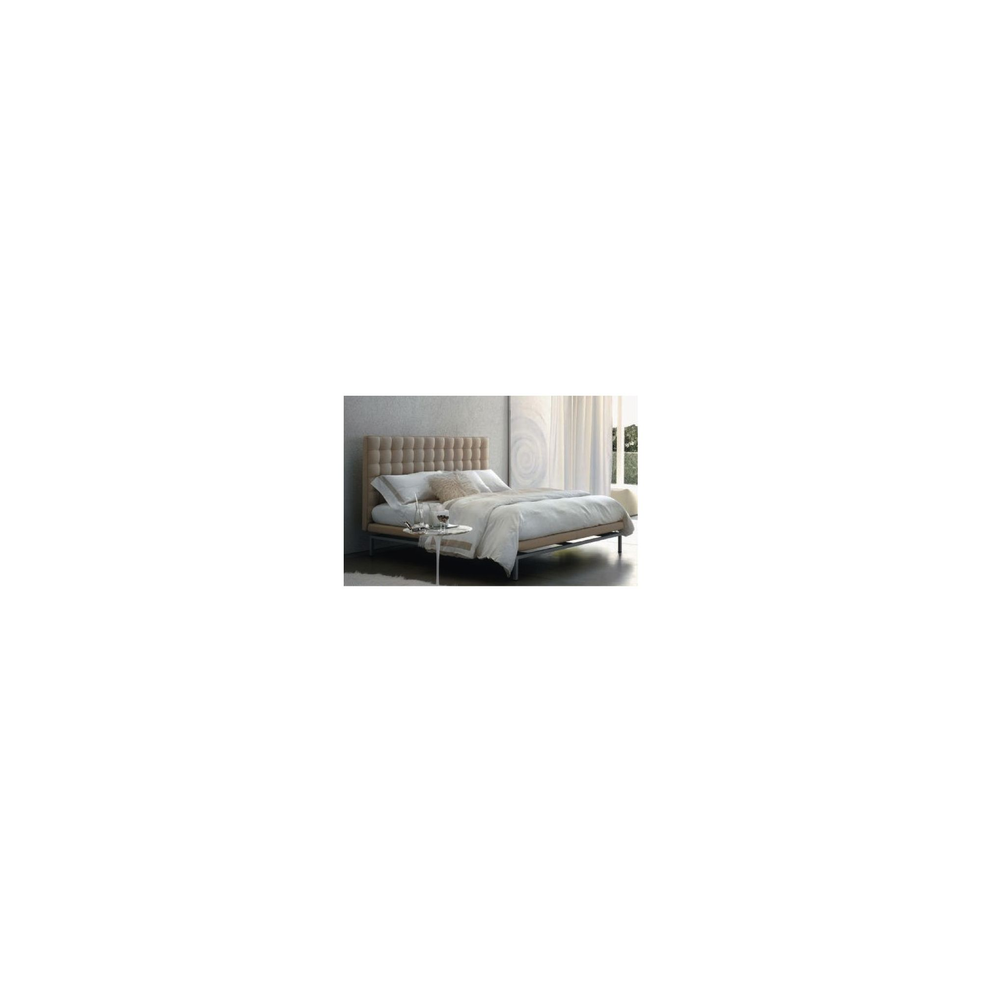 CC Furnishing 126'' Super King-size Design Bed - White Cashmere at Tescos Direct