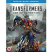 Transformers: Age of Extinction (3D Blu-ray & Blu-ray)