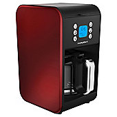 Morphy Richards 162009 900 Watt Pour Over Filter Coffee Maker in Red