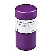 Tesco Damson & Pomegranate Pillar Candle