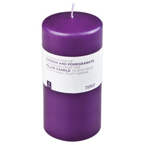 Damson & Pomegranate Pillar Candle