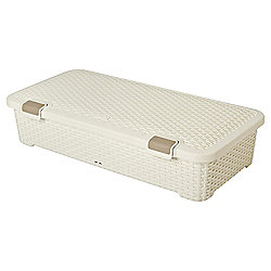 Curver My Style Underbed Storage Box - 42L - Cream