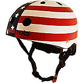 Kiddimoto Helmet Small (USA Flag)