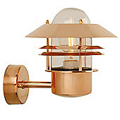 Nordlux Blokhus Up Wall Light - Copper