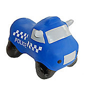 Happy Hopperz Blue Police Car