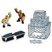 WWE Rumblers Rampage Crash Cage