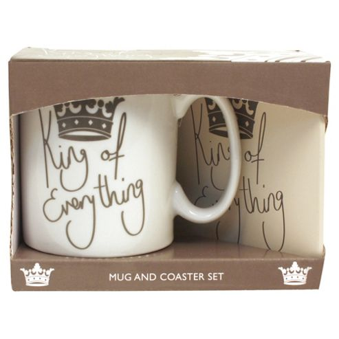 King of Everything Mug Set