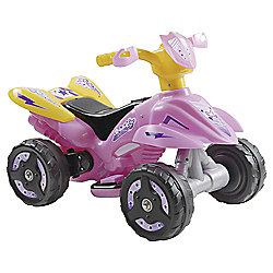 Battery Powerd Quad Bike - Pink