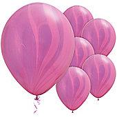 11' Pink Violet Rainbow SuperAgate (25pk)
