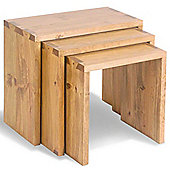 Ultimum Classic Pine Nest Of Tables