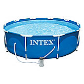 "Intex Metal Frame Pool 10ft x 30"" - 28202"