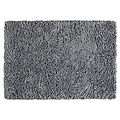 Tesco Soft Shaggy Rug Grey 100x150cm