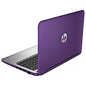 HP x360 11-n020na 11.6-inch Touchscreen 2-in-1 Laptop, Intel Celeron, 4GB RAM, 500GB - Purple