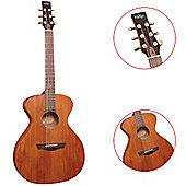 Vintage Gordon Giltrap Mahogany Acoustic Guitar