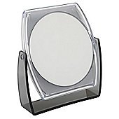 Famego 5x Magnification Folding Stand Mirror in Smoke