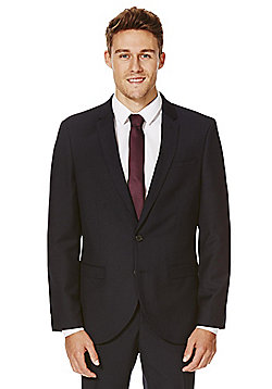 F&F Navy Slim Fit Suit Jacket - Navy