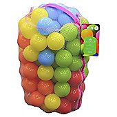 Tesco 100 Play balls Multi