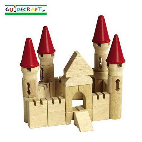 Guidecraft Table Top Castle Block Set