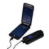 Powertraveller Powermonkey Extreme Portable Solar Charger - Black