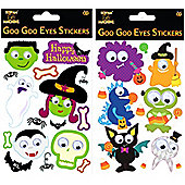 Halloween Goo Goo Eye Stickers (each)