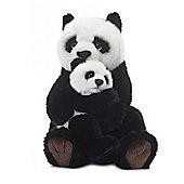 WWF Panda Mother & Child Soft Toy - 28cm