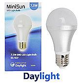 MiniSun E27 7.5W SMD LED GLS Bulb 6500K 630 Lumens