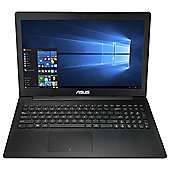 "Asus X553 15.6"" Laptop Intel Celeron N2840 4G 1TB Win 10 Black"