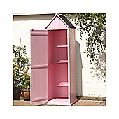 2 x 2 Pink Beach Style Apex Sentry Shed 2ft x 2ft (0.65m x 0.65m)