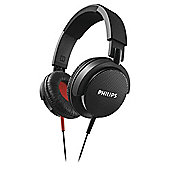 Philips SHL3100 DJ Style On-Ear Headphones - Black