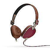 Navigator On-Ear Headphones with Mic Brown/Copper