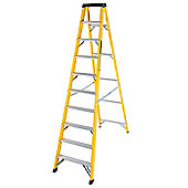 Trade 10 Tread GRP Fibreglass Step Ladder