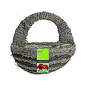Gardman Moss and Brushwood Wall Basket