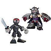 Teenage Mutant Ninja Turtles Half-Shell Heroes Shredder and Foot Soldier Figures Double Pack