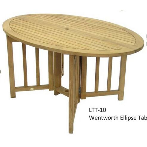 Royal Craft Wentworth Oval Gateleg Table
