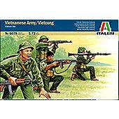 Vietnamese Army/Vietcong Vietnam War - 1:72 Scale - 6079 - Italeri