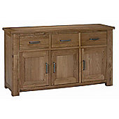 Kelburn Furniture Lyon Large Sideboard in Light Oak Matt Lacquer