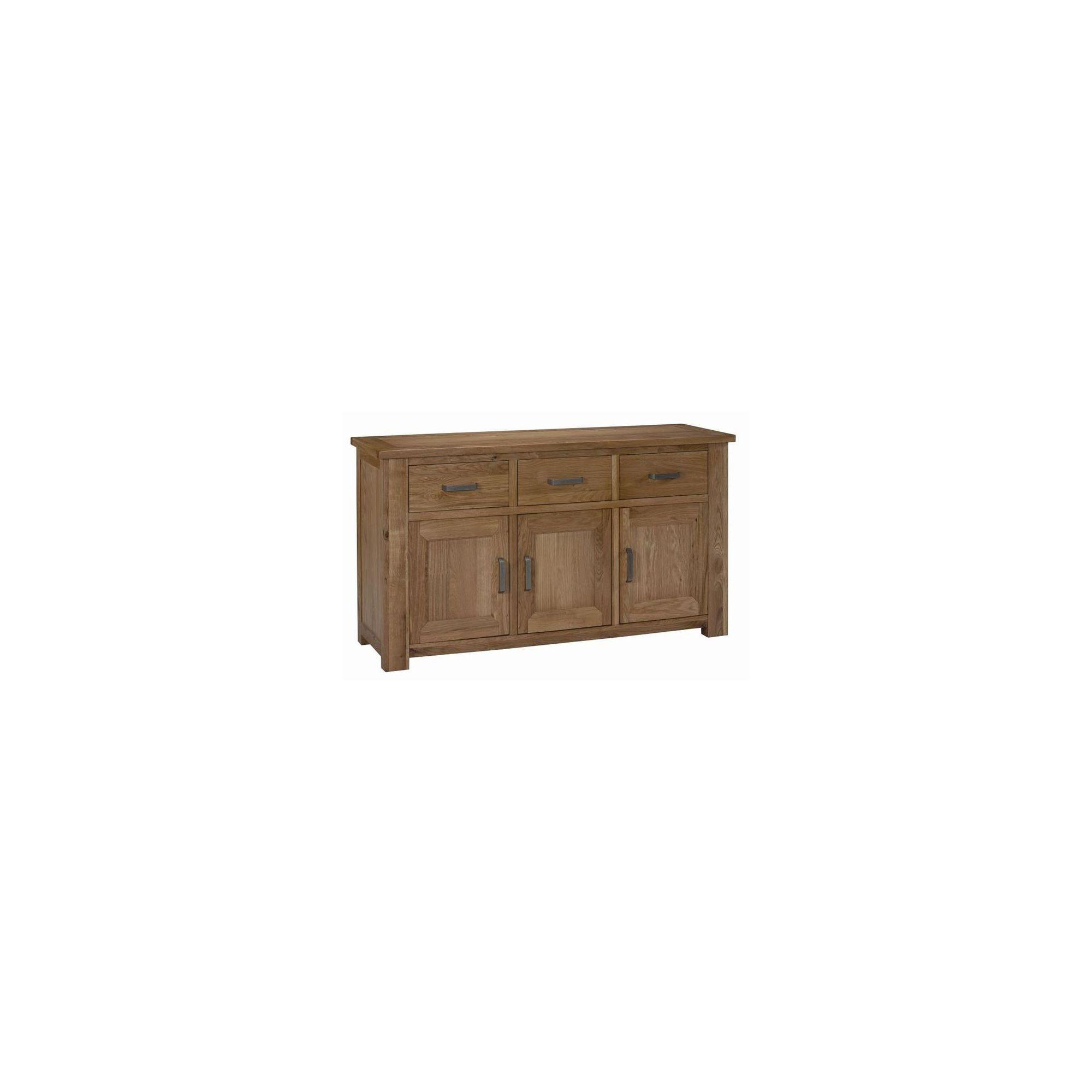 Kelburn Furniture Lyon Large Sideboard in Light Oak Matt Lacquer at Tesco Direct