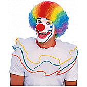 Multi Colour Clown Wig - Fancy Dress