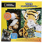 National Geographic Sew Easy-Tiger