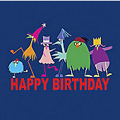 Holy Mackerel Greetings Card- Animal party