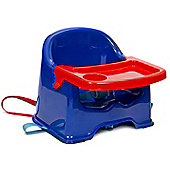 Strata Little Stars Basic Booster Seat with Tray (Blue)