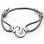 i.d x-change Cuffs of Love Bracelet - Grey XS
