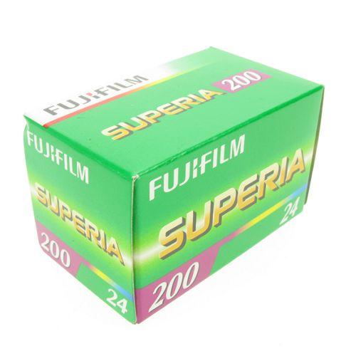 Fujicolor Film - Superia 200 24 Exposures 135