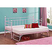 Birlea Jessica 90cm Day Bed Frame - Pink