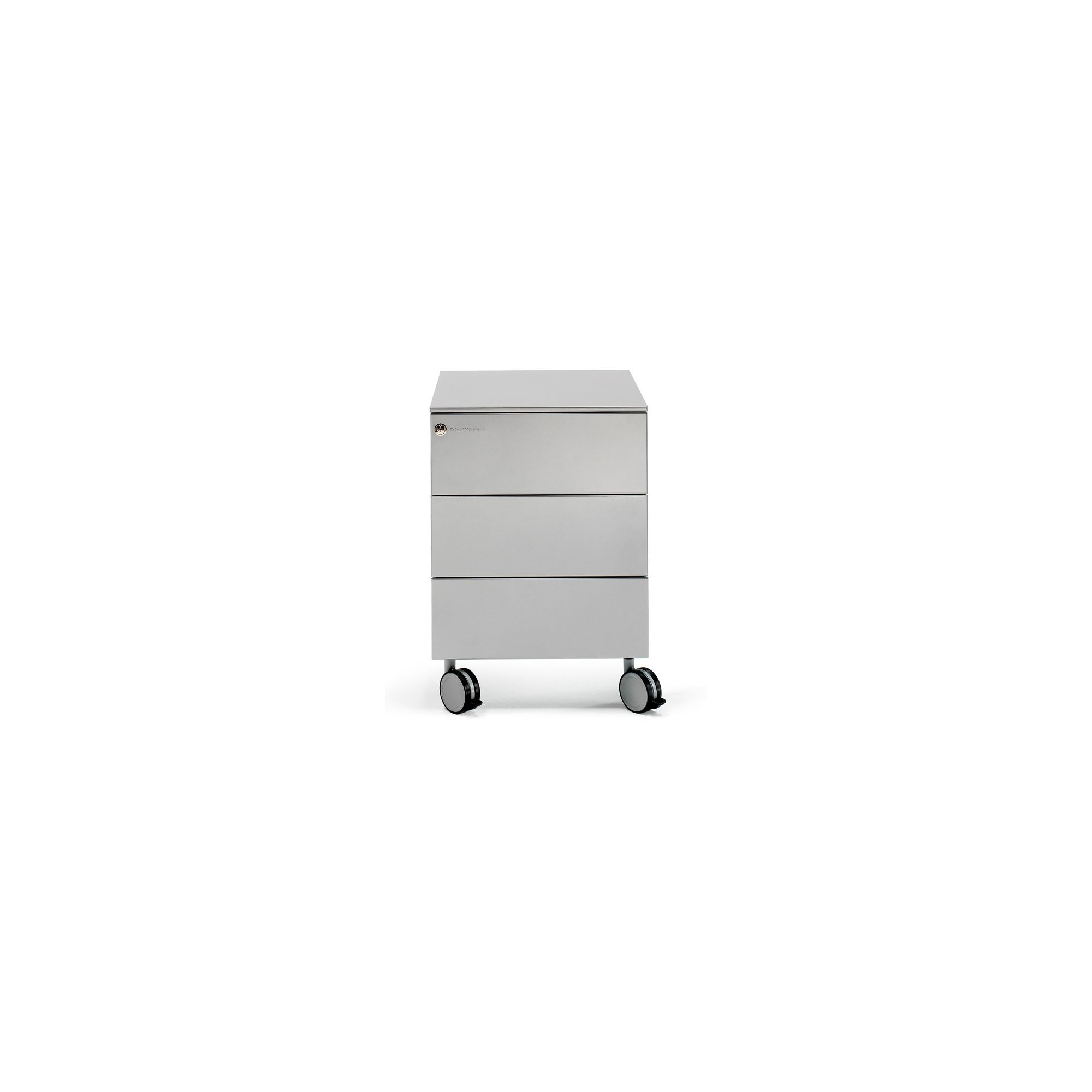 Mobles 114 Pey Pedestal with 3 Drawers - Grey at Tesco Direct