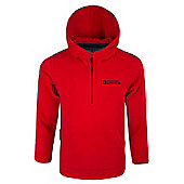 Mountain Warehouse Camber Kids Microfleece Hoodie - Red