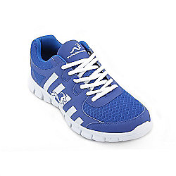 Woodworm Sports Ctg Mens Running Shoes / Trainers Blue/White Size 10