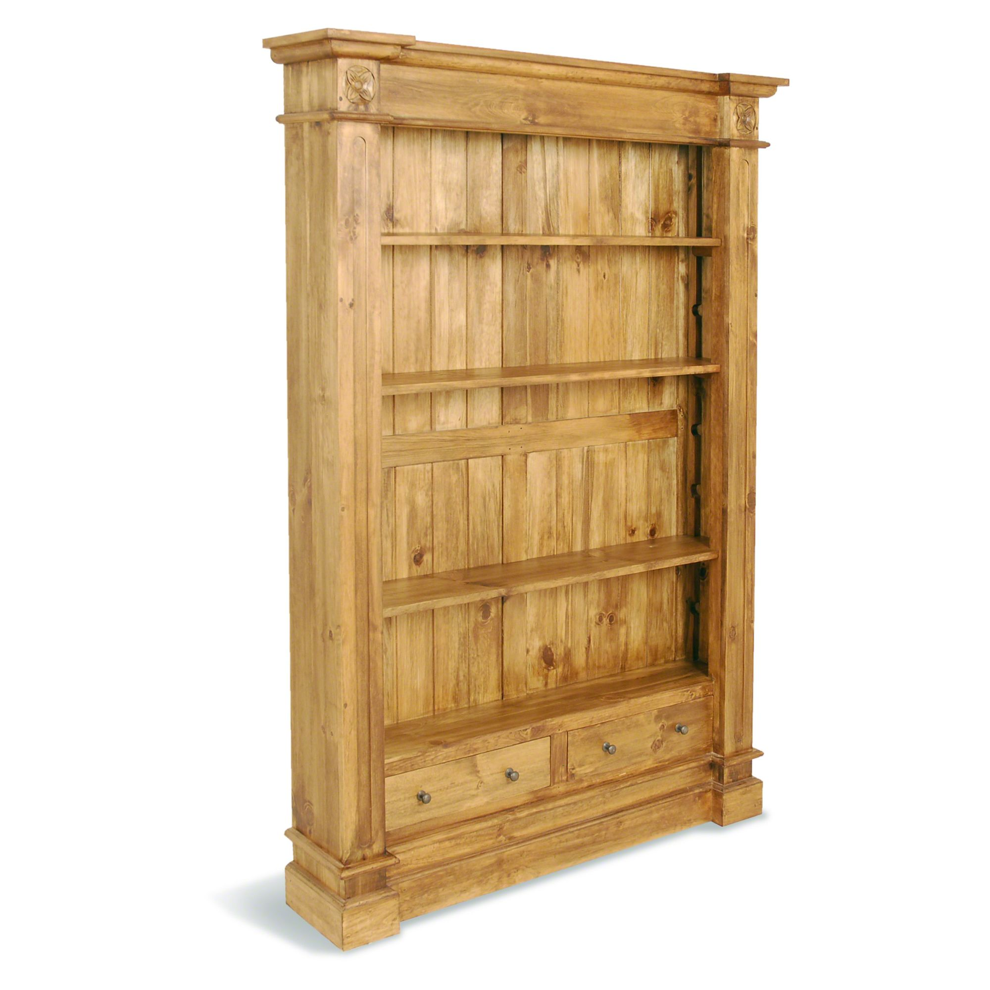 Oceans Apart Classic Pine Large Nixon Bookcase at Tesco Direct