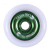 Blazer Pro Scooter Wheel Aluminium Core 100mm Green