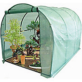 Harbour Housewares Large Polytunnel Vegetable / Fruit Greenhouse With Strong Cover